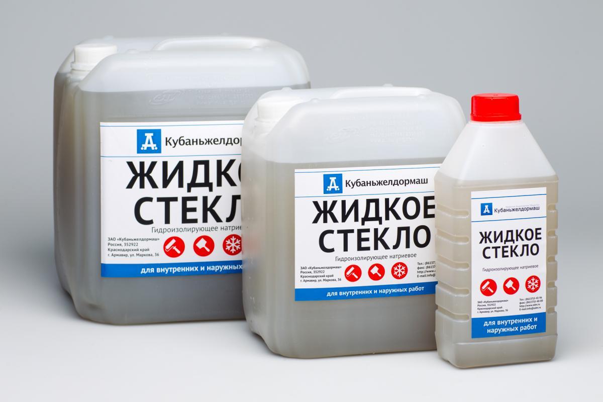 цена жидкого стекла для бетона